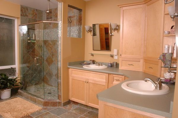 Nanaimo Location Photography Cedar Home Bathroom Home