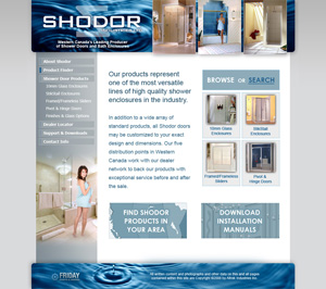 shodor industries shower doors